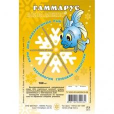 Гаммарус  - быстрозамороженный натуральный корм 100г