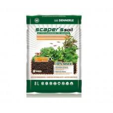 Dennerle Scaper's Soil – Питательный грунт 1-4 мм 8 л